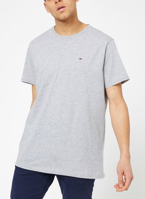 Tøj Tommy Jeans TJM ORIGINAL JERSEY TEE Grå Se fra højre