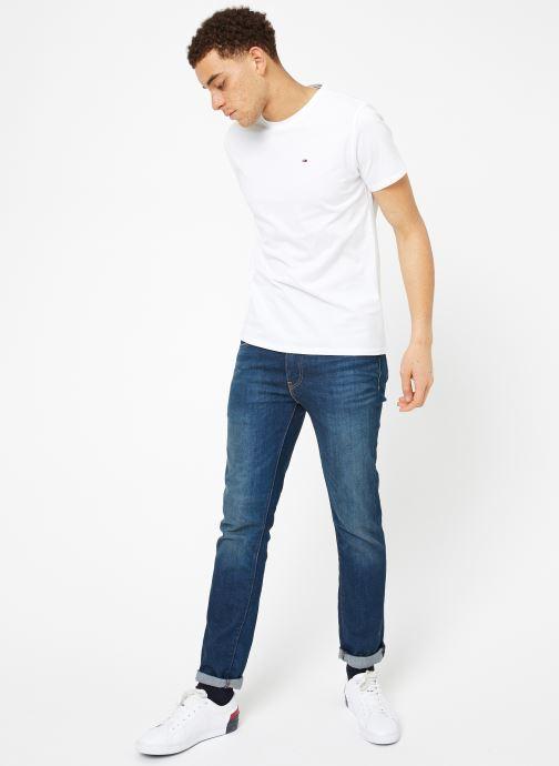 Tøj Tommy Jeans TJM ORIGINAL JERSEY TEE Hvid se forneden