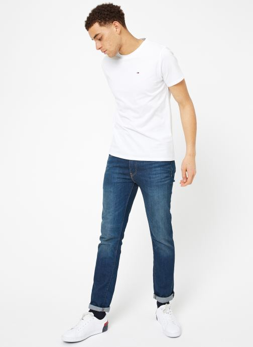 Ropa Tommy Jeans TJM ORIGINAL JERSEY TEE Blanco vista de abajo