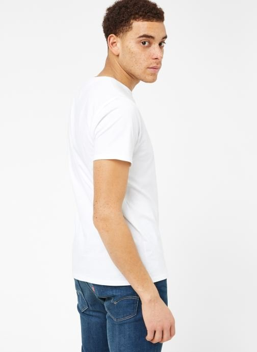 Ropa Tommy Jeans TJM ORIGINAL JERSEY TEE Blanco vista del modelo