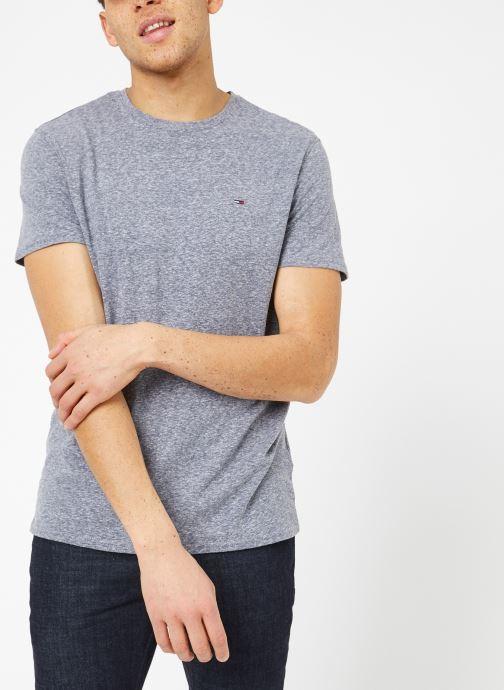 Tøj Tommy Jeans TJM ORIGINAL TRIBLEND TEE Grå Se fra højre