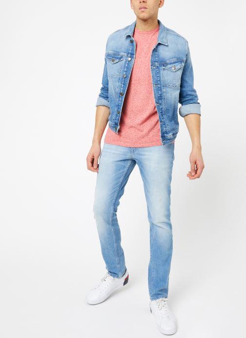Kleding Tommy Jeans TJM ORIGINAL TRIBLEND TEE Roze onder