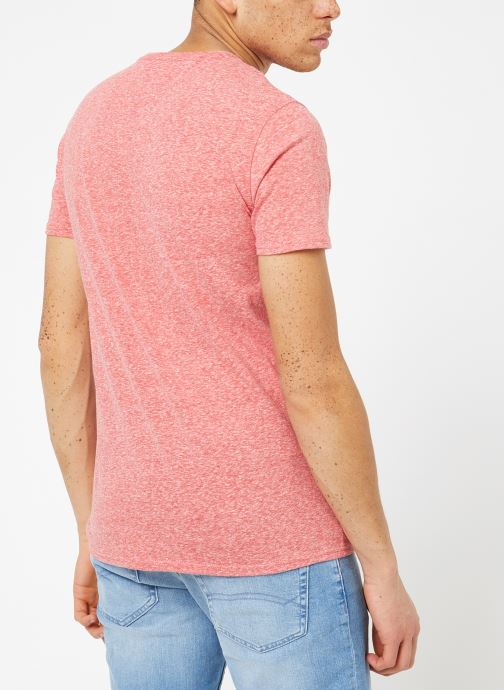 Kleding Tommy Jeans TJM ORIGINAL TRIBLEND TEE Roze model