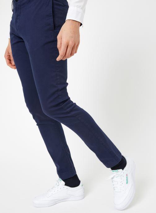 Vêtements Tommy Jeans TJM ESSENTIAL SLIM CHINO Bleu vue détail/paire