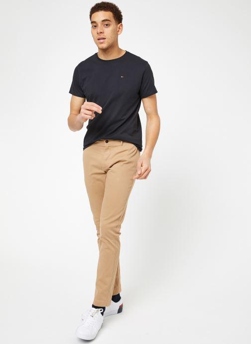 Vêtements Tommy Jeans TJM ESSENTIAL SLIM CHINO Beige vue bas / vue portée sac