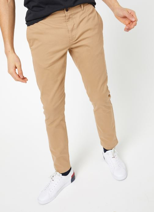 Vêtements Tommy Jeans TJM ESSENTIAL SLIM CHINO Beige vue détail/paire
