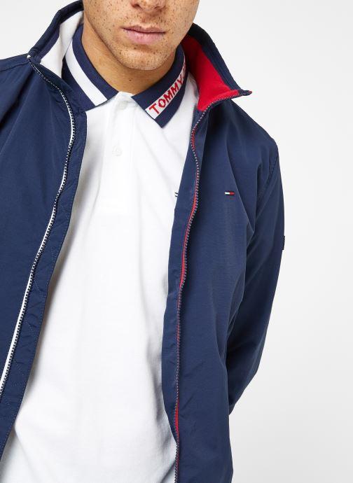 Vêtements Tommy Jeans TJM ESSENTIAL CASUAL BOMBER Bleu vue face