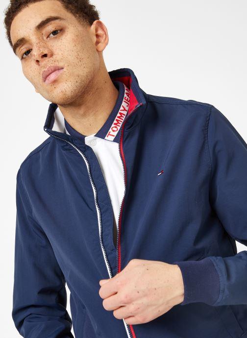 Vêtements Tommy Jeans TJM ESSENTIAL CASUAL BOMBER Bleu vue détail/paire
