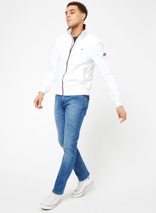 Tøj Tommy Jeans TJM ESSENTIAL CASUAL BOMBER Hvid se forneden