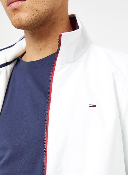 Tøj Tommy Jeans TJM ESSENTIAL CASUAL BOMBER Hvid se forfra