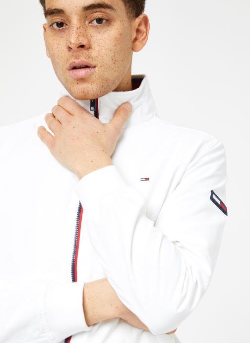 Vêtements Tommy Jeans TJM ESSENTIAL CASUAL BOMBER Blanc vue détail/paire