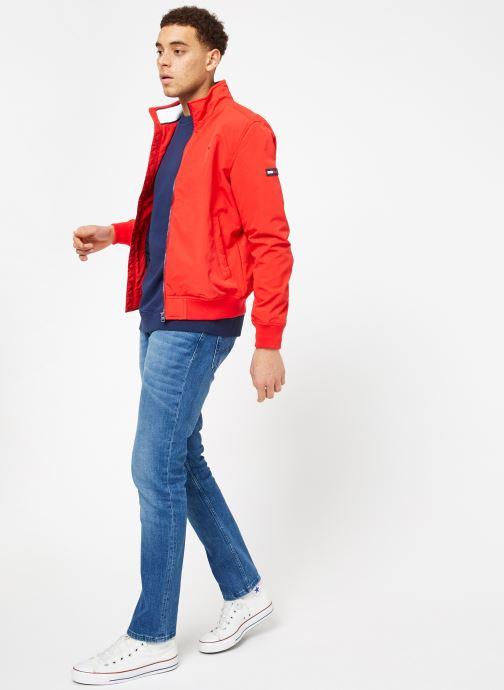 Tøj Tommy Jeans TJM ESSENTIAL CASUAL BOMBER Rød se forneden