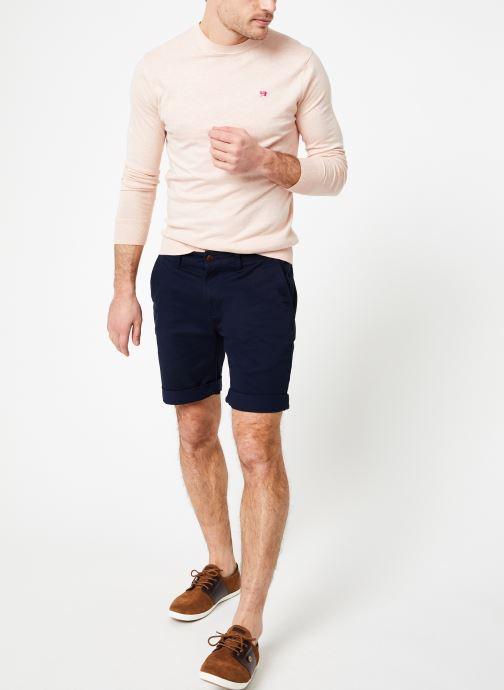 Vêtements Tommy Jeans TJM ESSENTIAL CHINO SHORT Bleu vue bas / vue portée sac