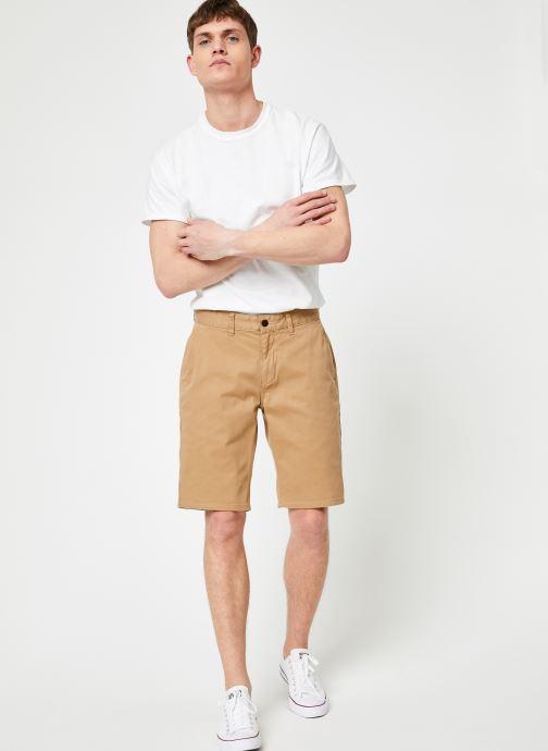 Vêtements Tommy Jeans TJM ESSENTIAL CHINO SHORT Beige vue bas / vue portée sac