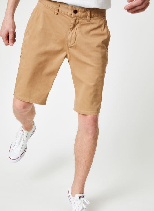 Vêtements Tommy Jeans TJM ESSENTIAL CHINO SHORT Beige vue détail/paire