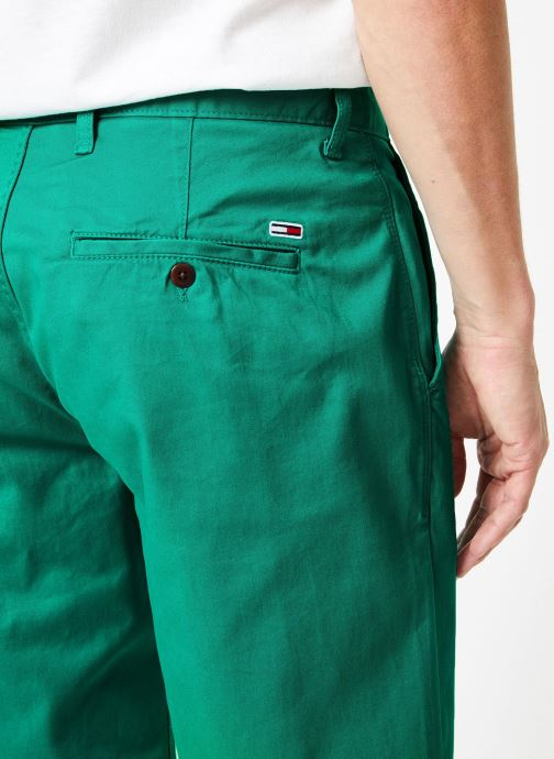Vêtements Tommy Jeans TJM ESSENTIAL CHINO SHORT Vert vue face