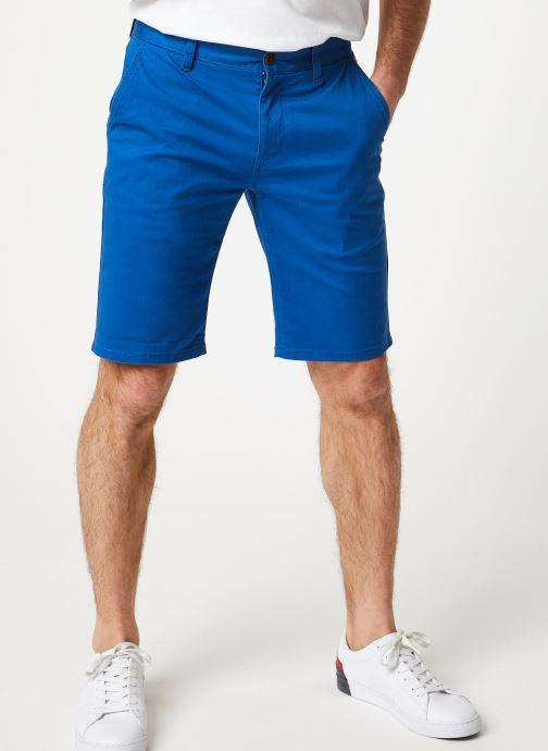 Vêtements Tommy Jeans TJM ESSENTIAL CHINO SHORT Bleu vue détail/paire