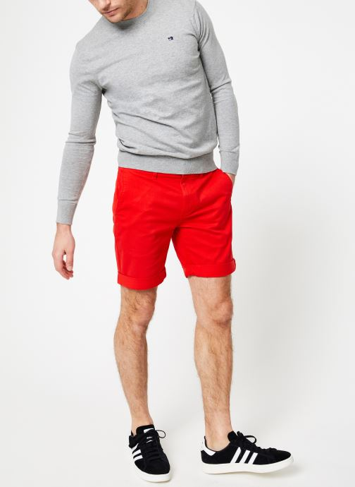 Vêtements Tommy Jeans TJM ESSENTIAL CHINO SHORT Rouge vue bas / vue portée sac
