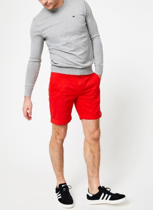 Vêtements Tommy Jeans TJM ESSENTIAL CHINO SHORT Rouge vue bas / vue portée sac