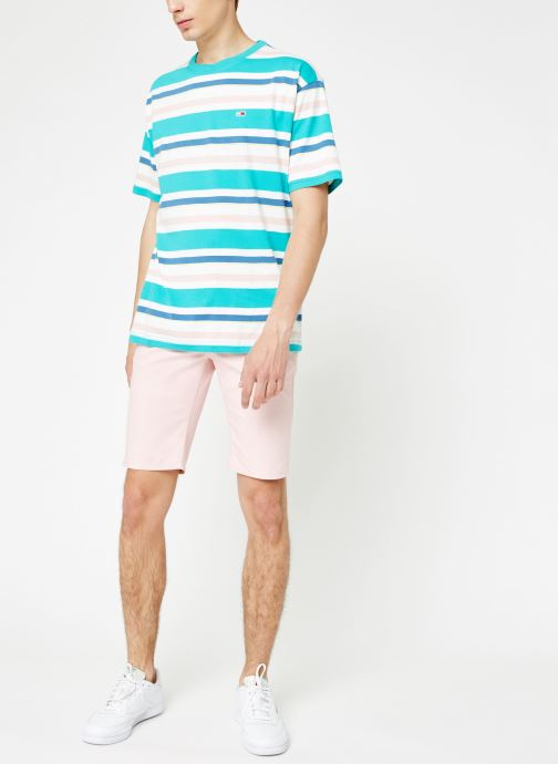 Vêtements Tommy Jeans TJM ESSENTIAL CHINO SHORT Rose vue bas / vue portée sac