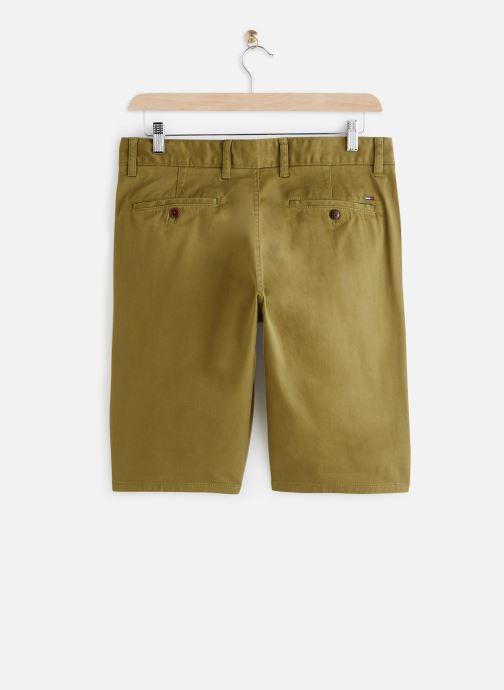 Vêtements Tommy Jeans TJM ESSENTIAL CHINO SHORT Vert vue bas / vue portée sac