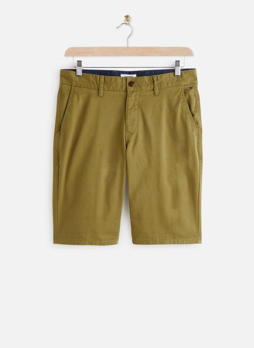 Vêtements Tommy Jeans TJM ESSENTIAL CHINO SHORT Vert vue détail/paire
