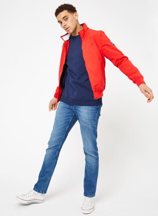 Tøj Tommy Jeans TJM TOMMY CLASSICS CREW Blå se forneden
