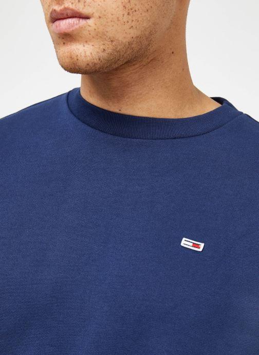 Tøj Tommy Jeans TJM TOMMY CLASSICS CREW Blå se forfra