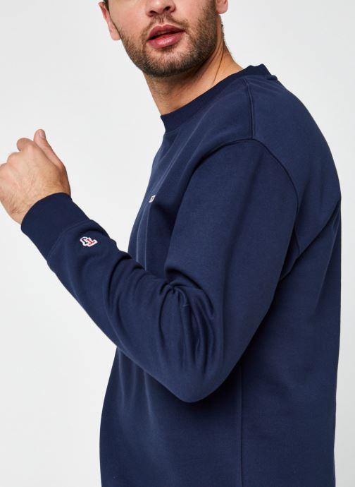 Vêtements Tommy Jeans TJM TOMMY CLASSICS CREW Bleu vue face