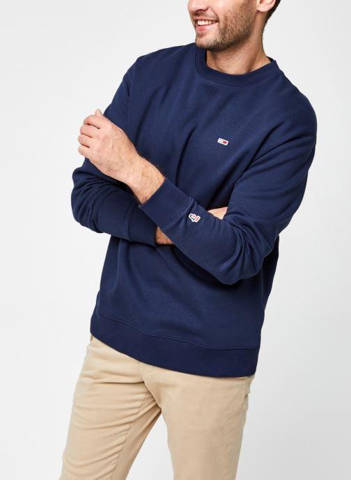 Vêtements Tommy Jeans TJM TOMMY CLASSICS CREW Bleu vue détail/paire