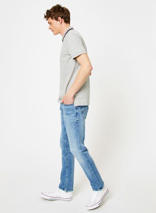 Vêtements Tommy Jeans TJM TOMMY CLASSICS STRETCH POLO Gris vue bas / vue portée sac