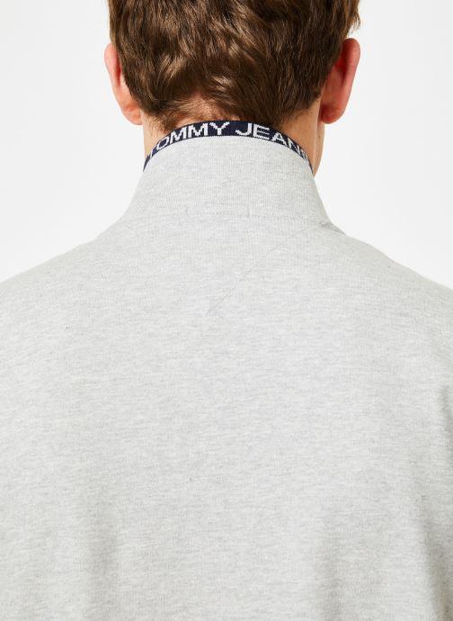 Vêtements Tommy Jeans TJM TOMMY CLASSICS STRETCH POLO Gris vue face