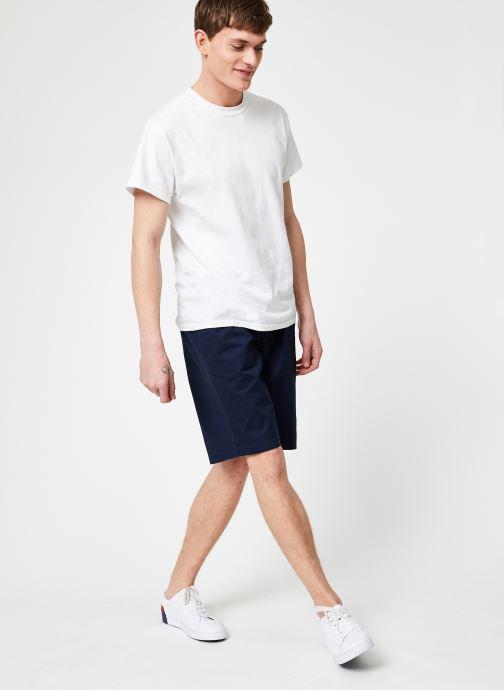Vêtements Tommy Jeans TJM BASKETBALL SHORT Bleu vue bas / vue portée sac