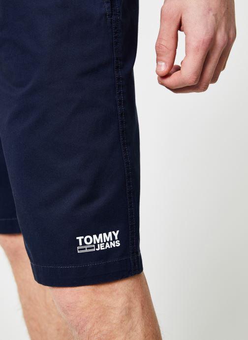 Vêtements Tommy Jeans TJM BASKETBALL SHORT Bleu vue face