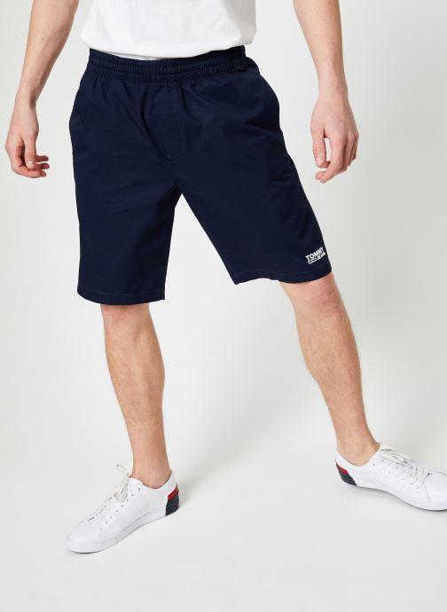 Vêtements Tommy Jeans TJM BASKETBALL SHORT Bleu vue détail/paire