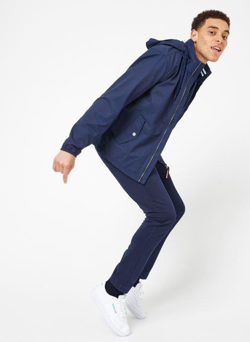 Vêtements Tommy Jeans TJM ESSENTIAL HOODED JACKET Bleu vue bas / vue portée sac