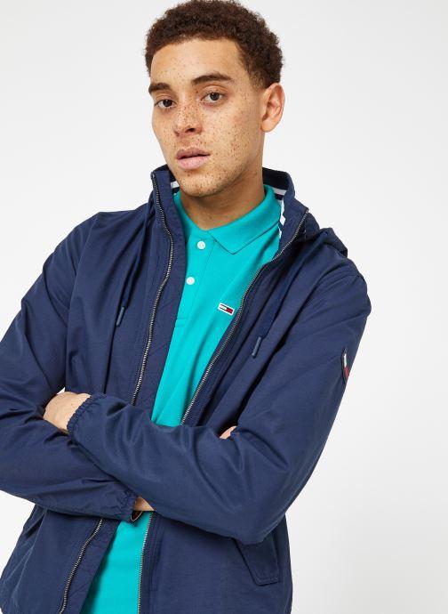 Vêtements Tommy Jeans TJM ESSENTIAL HOODED JACKET Bleu vue détail/paire