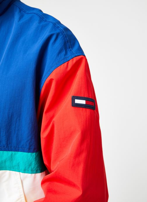 Vêtements Tommy Jeans TJM PIECED JACKET Multicolore vue face