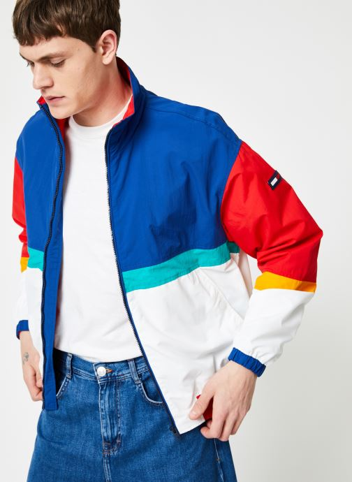 Vêtements Tommy Jeans TJM PIECED JACKET Multicolore vue détail/paire