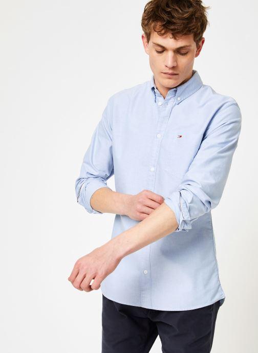 Vêtements Tommy Jeans TJM CLASSICS OXFORD SHIRT Bleu vue détail/paire