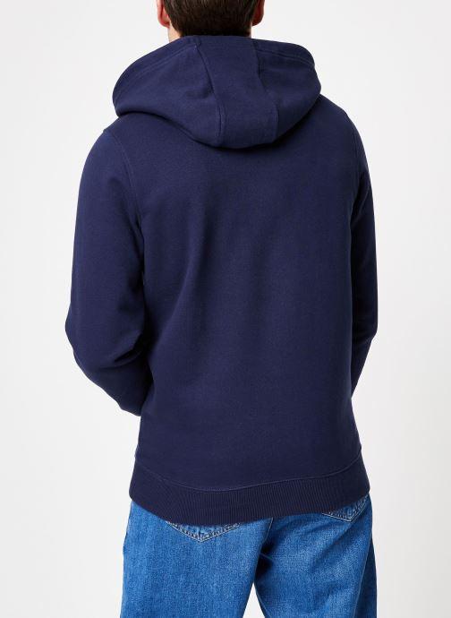 Kleding Tommy Jeans TJM ESSENTIAL GRAPHIC HOODIE Blauw model