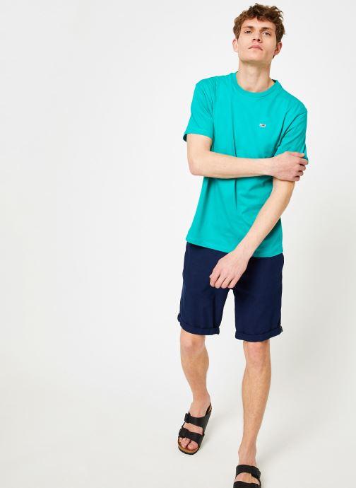 Vêtements Tommy Jeans TJM TOMMY CLASSICS TEE Vert vue bas / vue portée sac
