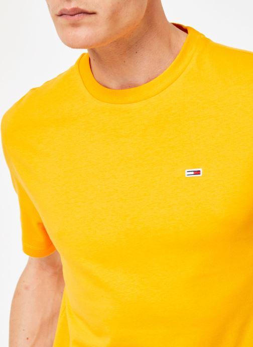 Vêtements Tommy Jeans TJM TOMMY CLASSICS TEE Orange vue face