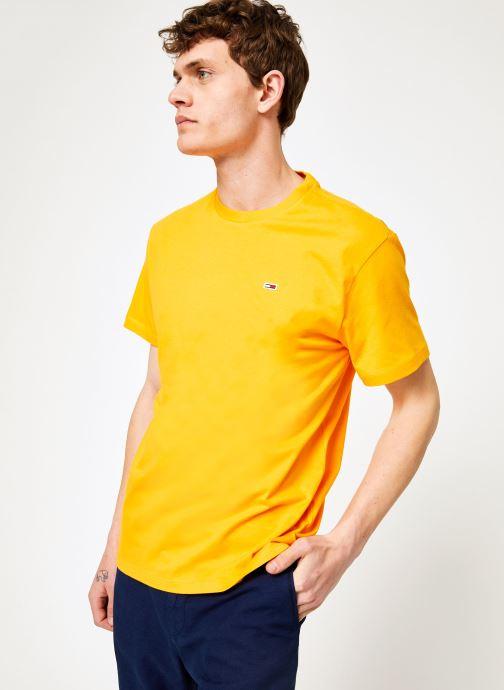 Vêtements Tommy Jeans TJM TOMMY CLASSICS TEE Orange vue détail/paire
