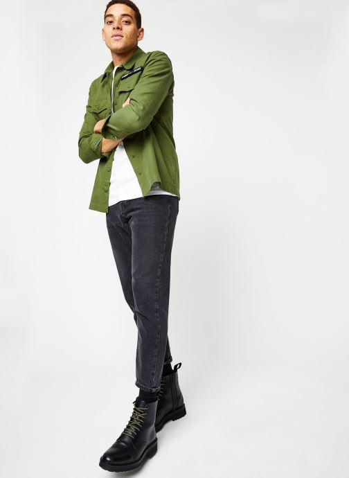 Vêtements Tommy Jeans TJM TOMMY CLASSICS TEE Blanc vue bas / vue portée sac