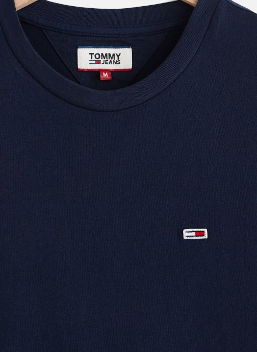 Vêtements Tommy Jeans TJM TOMMY CLASSICS TEE Bleu vue portées chaussures