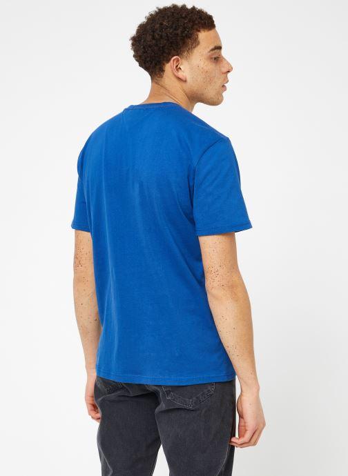 Kleding Tommy Jeans TJM ESSENTIAL BOX LOGO TEE Blauw model