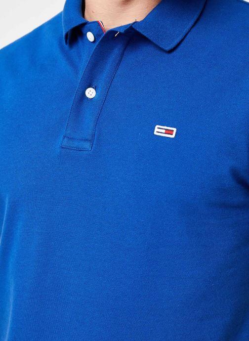 Vêtements Tommy Jeans TJM TOMMY CLASSICS SOLID POLO Bleu vue face