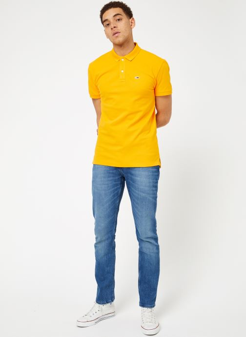 Tjm shirts Solid Polos VêtementsT Jeans Radiant Polo Yellow Classics Et Tommy 6gY7byf