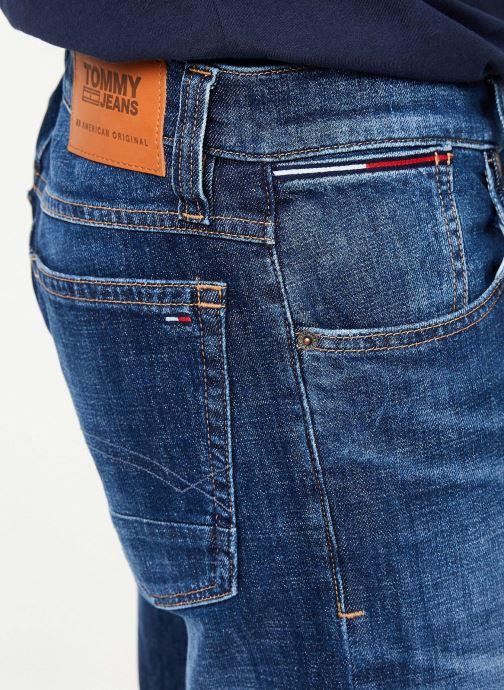 Vêtements Tommy Jeans RONNIE SHORT ELKDK Bleu vue face